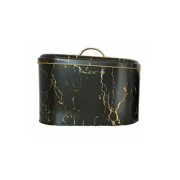 CH Continental Homeware - Breadbox - Black Marble