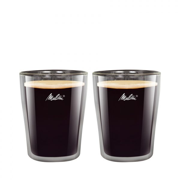 MELITTA COFFEE GLASSES 200ML - DOUBLE WALLED
