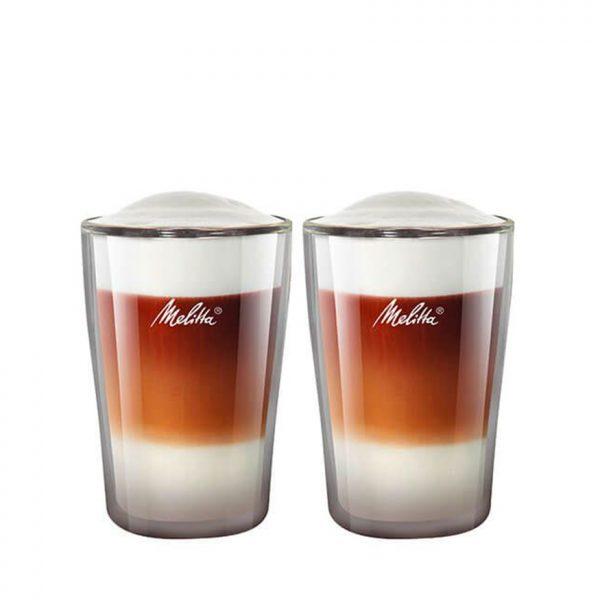 MELITTA LATTE MACCHIATO GLASSES