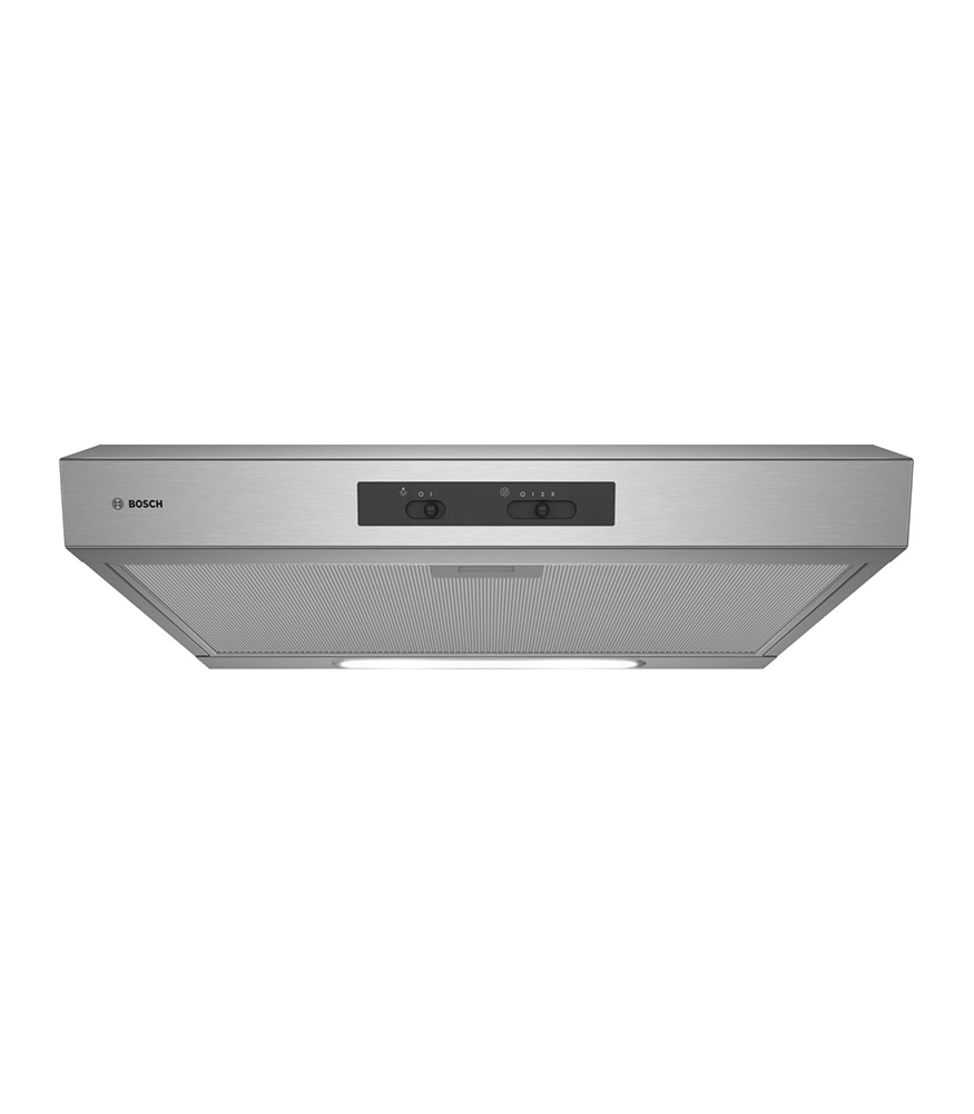 2 Built-in Extractor Hood60 cm Stainless steel