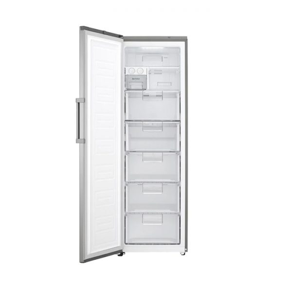 313L Larder Freezer, Inverter Linear Compressor, ThinQ, Platinum Silver