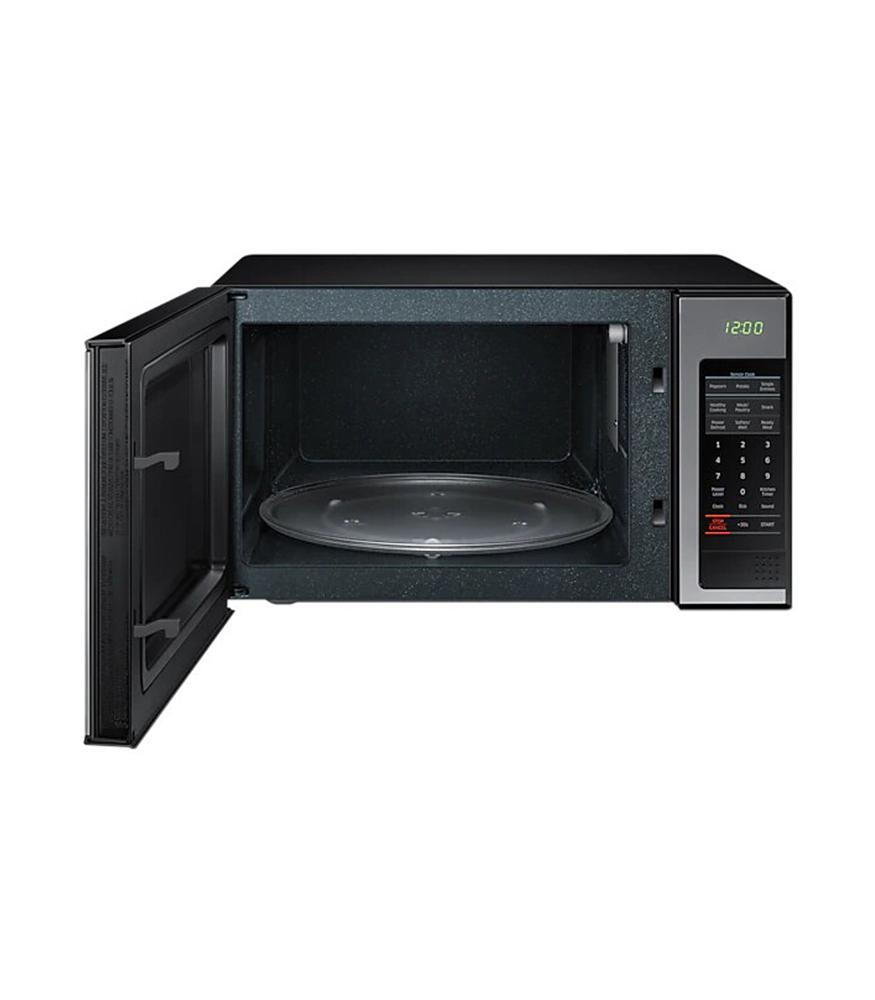 SAMSUNG 32L 1000 Watt Solo Microwave - Mirror Silver