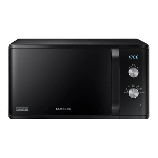 23L 800 Watt Solo Microwave - Black