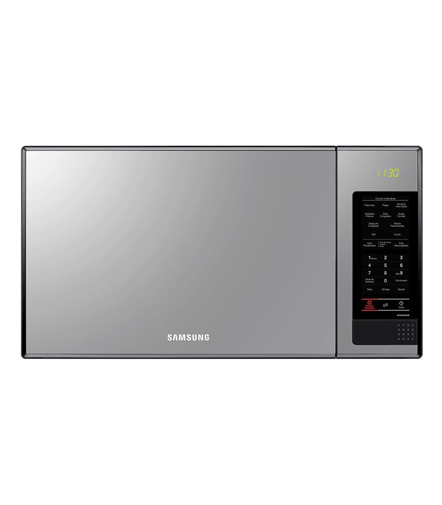 SAMSUNG 40L 1000 Watt Solo Microwave - Mirror Door