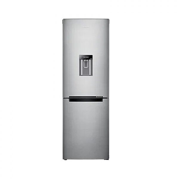"""SAMSUNG 288L Nett Frost Free Top Fridge Bottom Freezer Combination Fridge With Water Dispenser - Metal Graphite"""