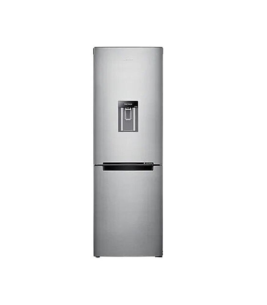 """SAMSUNG 288L Nett Frost Free Top Fridge Bottom Freezer Combination Fridge With Water Dispenser - Metal Graphite"""