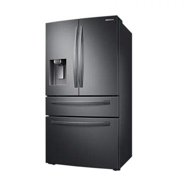 510L Nett Frost Free French Door Fridge With Water & Ice Dispenser - Black Stainless