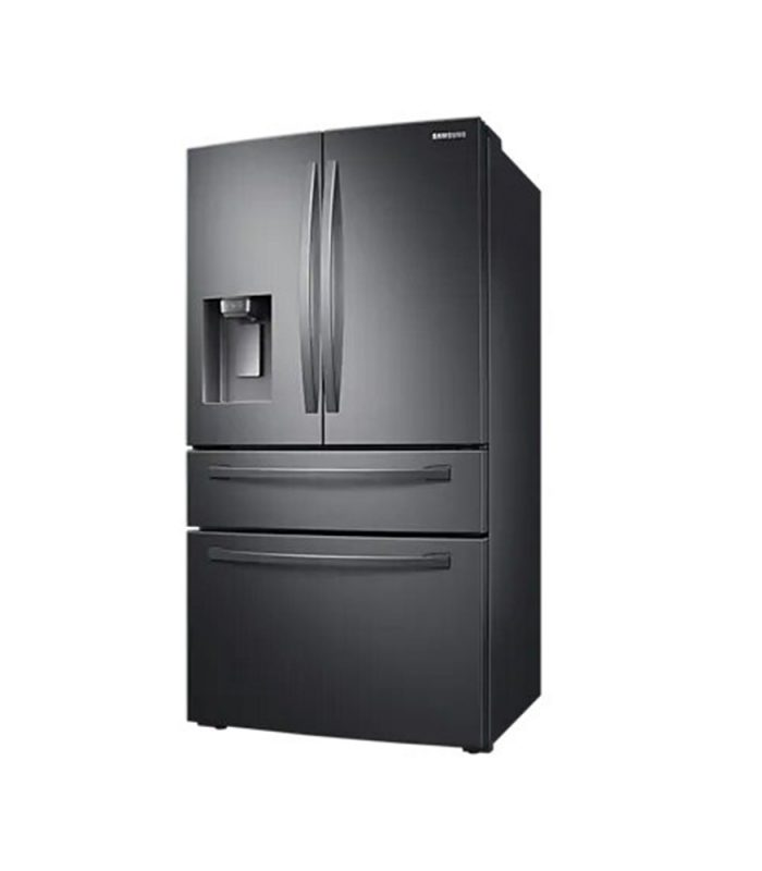 510L Nett Frost Free French Door Fridge With Water & Ice Dispenser - Black Stainless