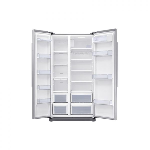 SAMSUNG 535L Net Frost Free Side by Side Fridge - Elegant Inox