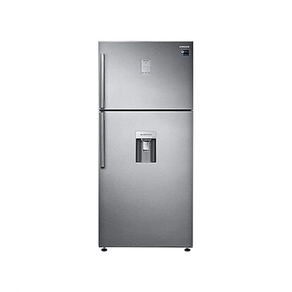 SAMSUNG 514L Frost Free Top Freezer Bottom Fridge Combination Fridge With Water Dispenser - Silver