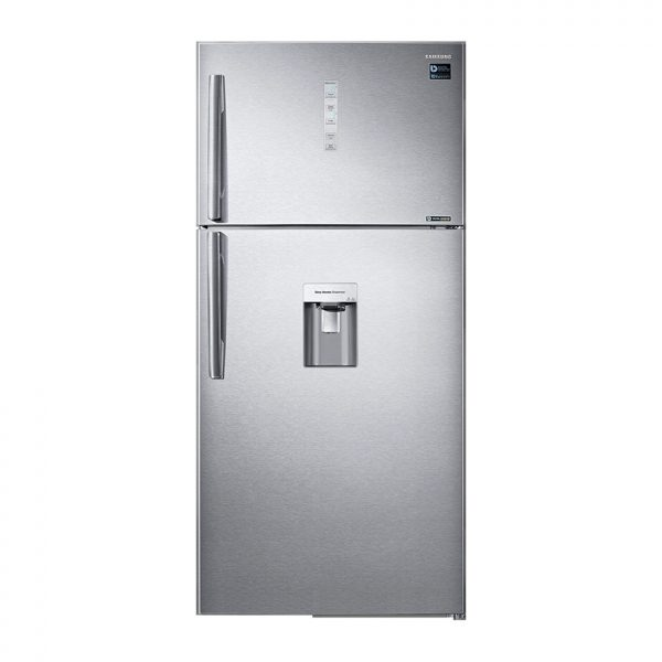SAMSUNG 629L Frost Free Top Freezer Bottom Fridge Combination Fridge With Water Dispenser - Silver