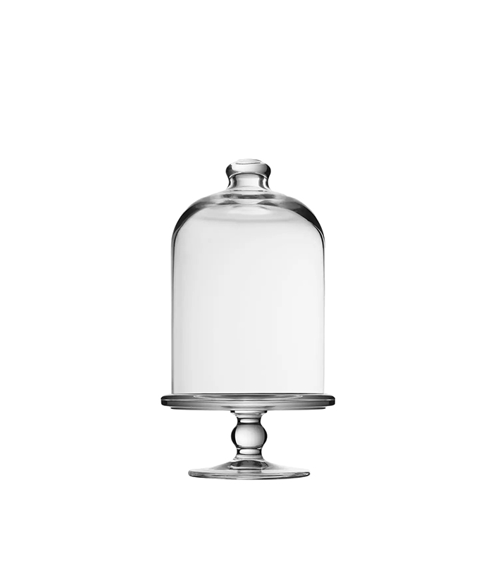 Patisserie Midi Glass Dome Pastry Stand with foot