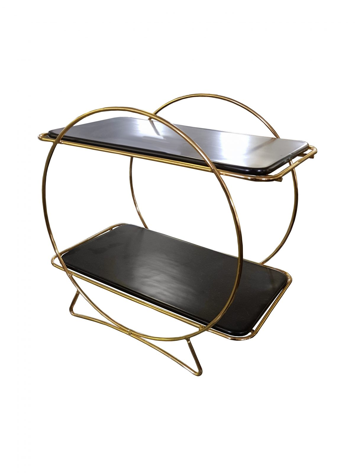 Cake Stand 2t Black Top 36cm