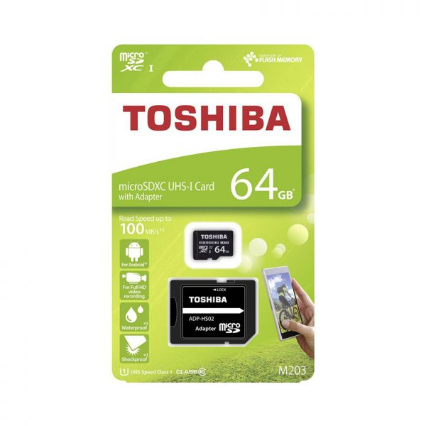 64GB MICRO SD WITH ADAPTER