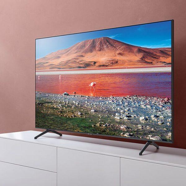"""SAMSUNG 55"""" TU7000 Crystal UHD 4K Smart TV - UA55TU7000KXXA"""