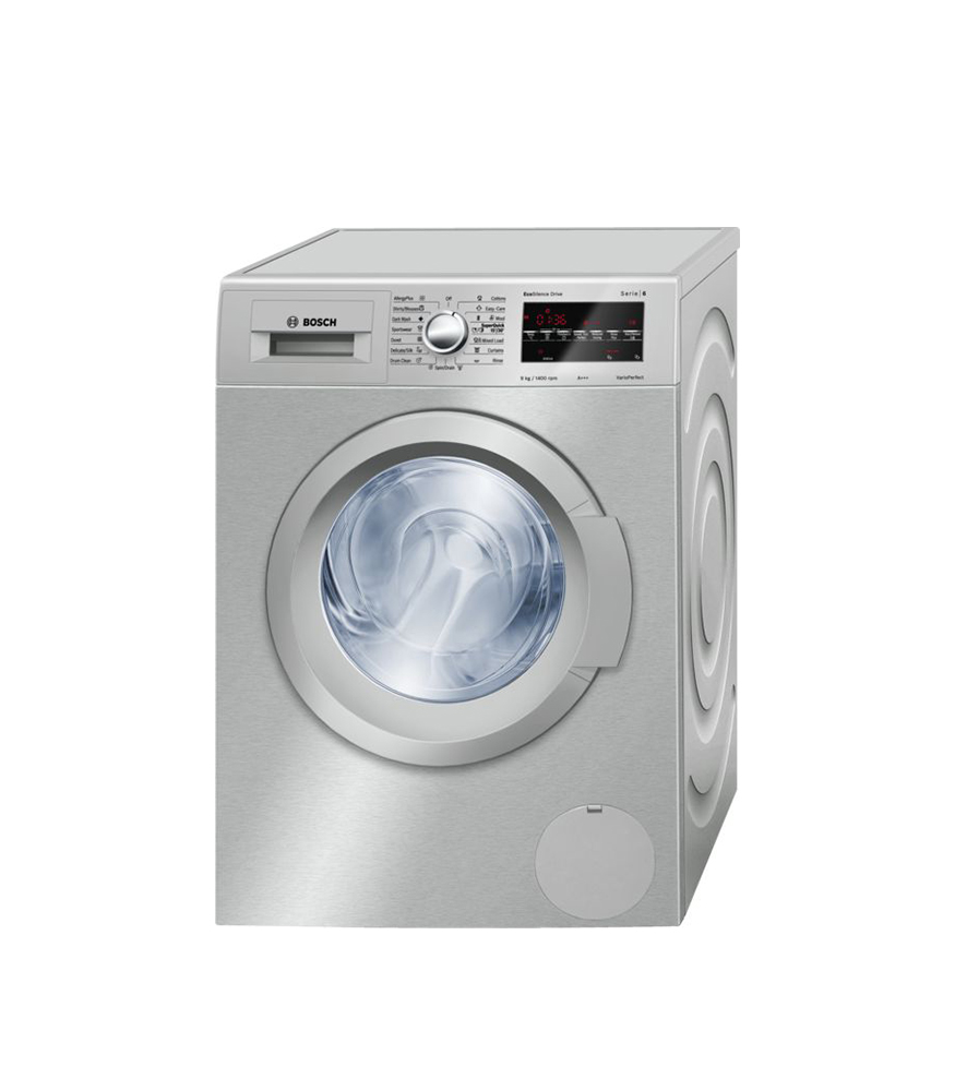Frontloader Washing Machine 9 kg Silver