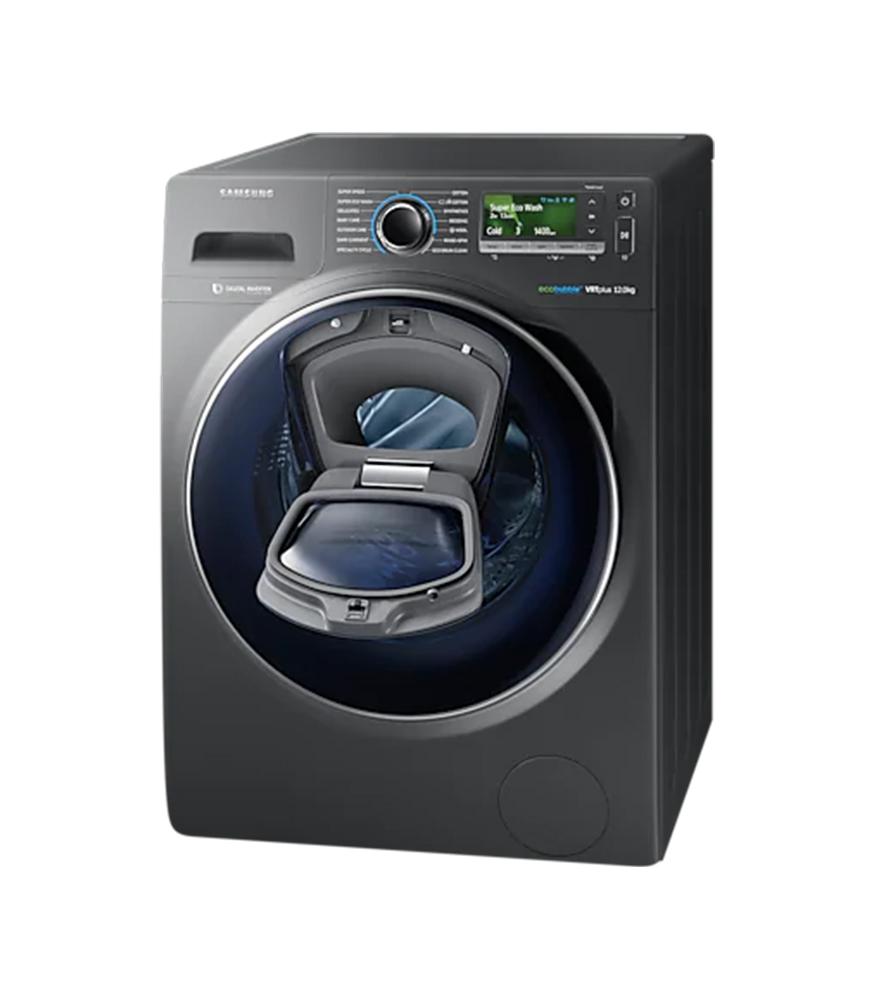 12Kg Front Loader Washing Machine - Inox Silver