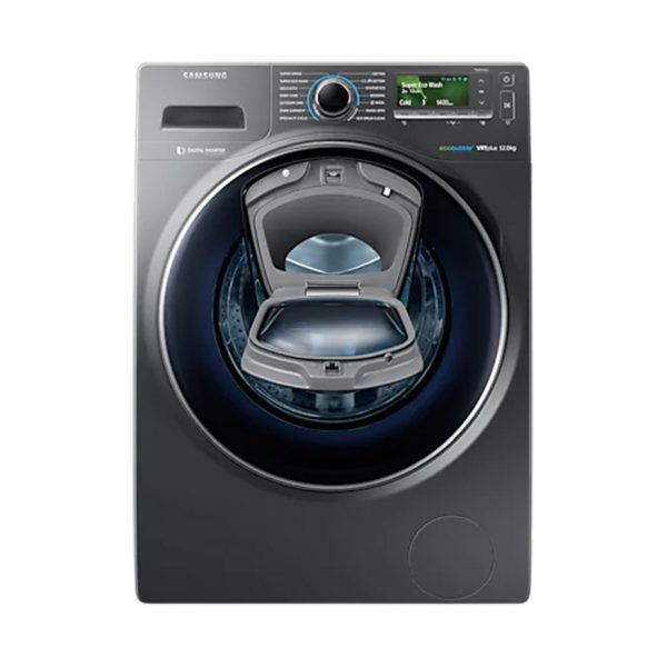 12Kg Front Loader Washing Machine - Inox Silver
