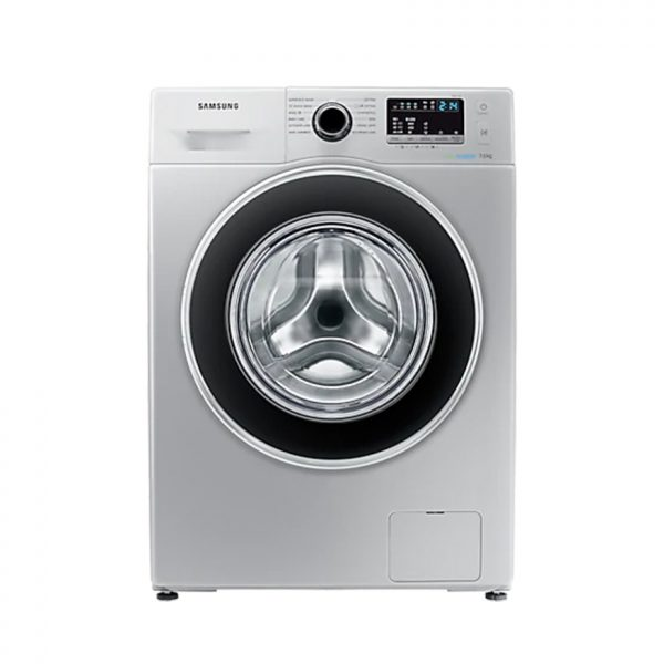 SAMSUNG 7Kg Front Loader Washing Machine - Silver