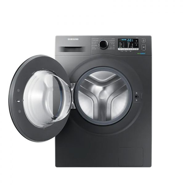SAMSUNG 8Kg Front Loader Washing Machine - Inox Silver