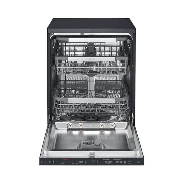 DFB325HM - Matte Black QuadWash™ Steam Dishwasher