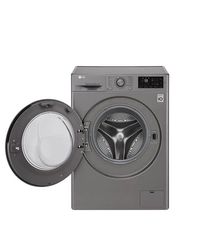 7kg Stone Silver Front Loader Washing Machine