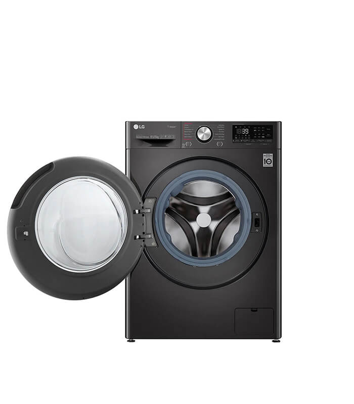 8.5KG Wash 5kg Dry Black Steel Vivace - AI DD Washer Dryer Combo