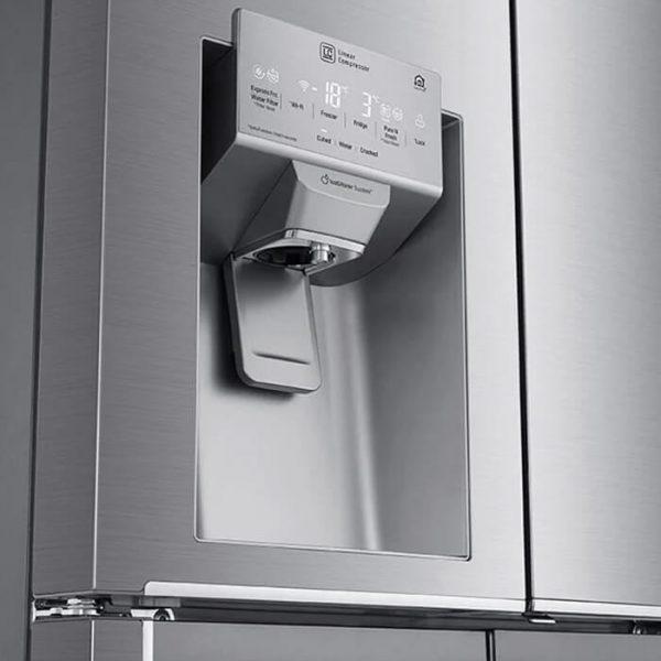 LG 570L Platinum Silver French Door with Door-In-Door and Inverter Linear Compressor