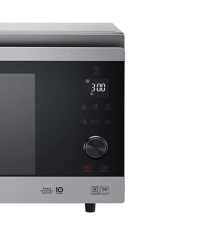 LG 39L Stainless Steel NeoChef Convection Oven with Smart Inverter - MJ3965ACS