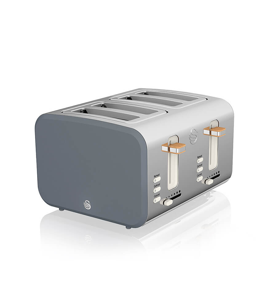 Swan 4 Slice Nordic Style Toaster - SNR4P