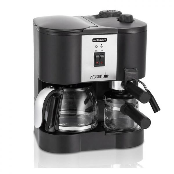 Mellerware - Modena Coffee Machine 3 in 1 1700w