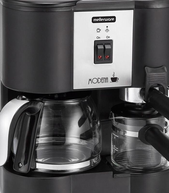 Mellerware - Modena Coffee Machine 3 in 1 1700w