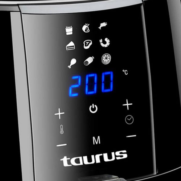 Taurus - Digital plus - Air Fryer Digital Black 3.5L 1500W -