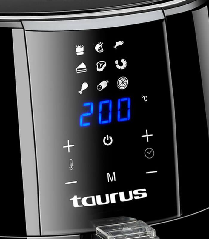Taurus - Digital plus - Air Fryer Digital Black 3.5L 1500W -