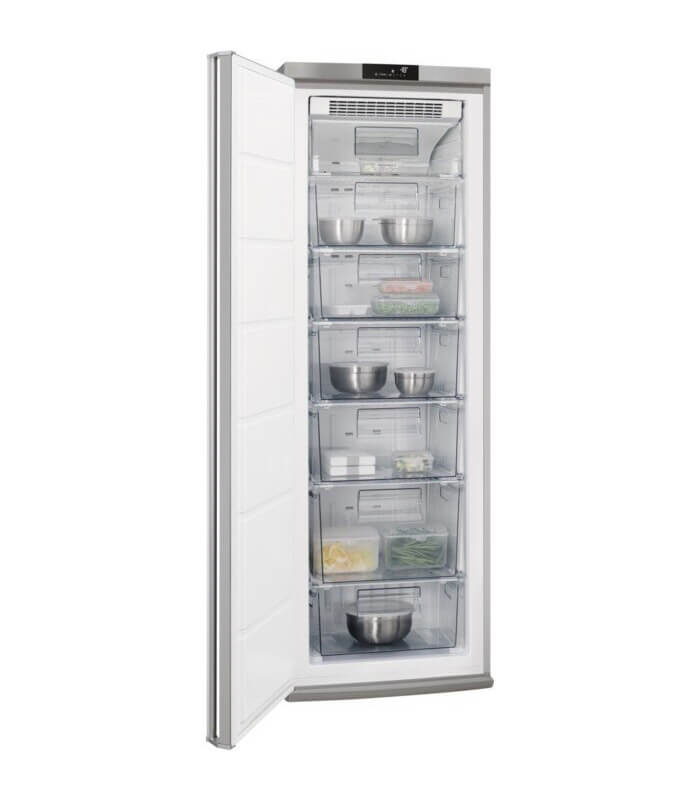 AEG - 229L Full Freezer Stainless Steel - AGE62516NX