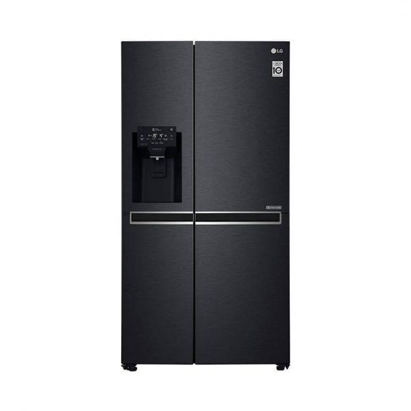 665L Black Stainless Steel Side by Side Fridge, Door-in-Door™