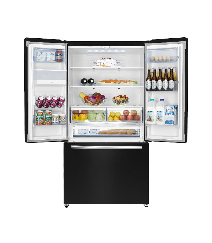 Hisense H720FSB-WD | (French Door) Refrigerator H720FSB-WD Total No Frost Multi Air Flow LED Lighting Super Wide Space