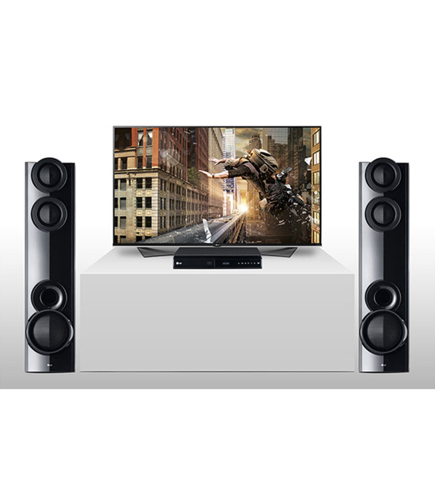 LHD677 DVD Home Theater System
