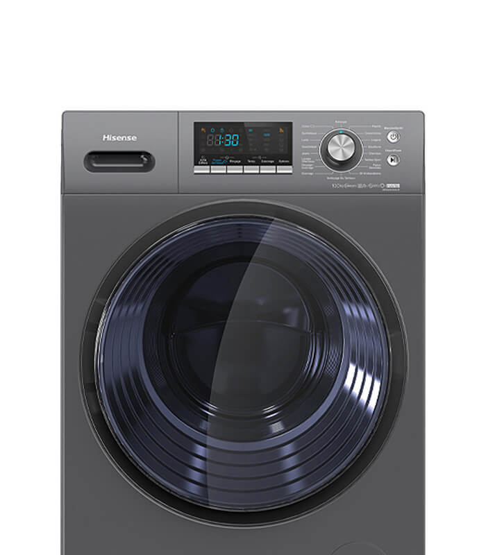 Power Jet Wash Better Cleaning Advanced Inverter Motor A+++ Energy Saving Pause & Add Funciton Intelligent LED Display 95°C Antibacterial Wash Programme Snowflake Drum to Protect Clothes
