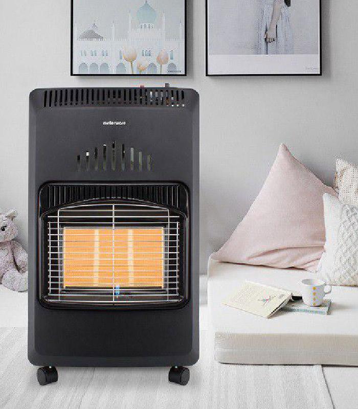 Mellerware - Foldable 4.2kw Gas Heater - 35420