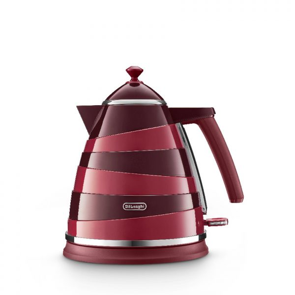 De'Longhi - Avvolta Class Kettle - Charming Red - KBAC3001R