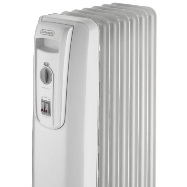 De'Longhi - 7 Fin Electric Oil-Filled Radiator - KH770715