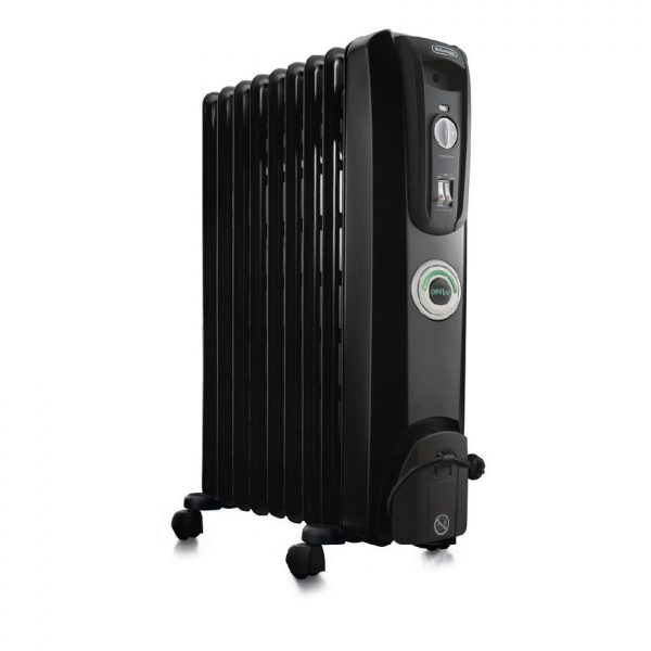 De'Longhi 7 Fin Oil Filled Radiator Heater – ComforTemp KH770715CB