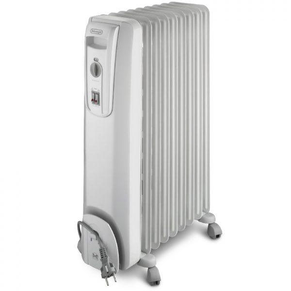 De'Longhi - 9 Fin Electric Oil-Filled Radiator - KH770920