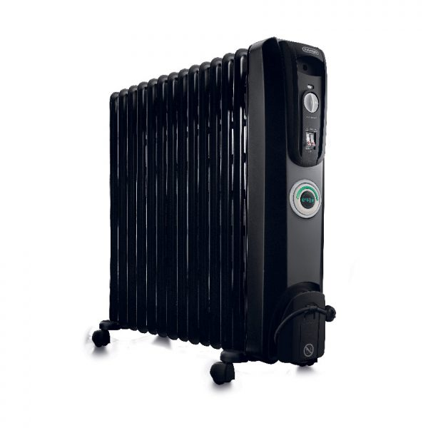 De'Longhi - 14 Fin Oil Filled Radiator Heater – ComforTemp - KH771430CB