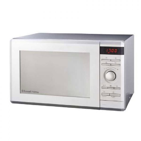 Russell Hobbs - 36L Electric Silver Microwave With Grill - 1000W - RHEM36G