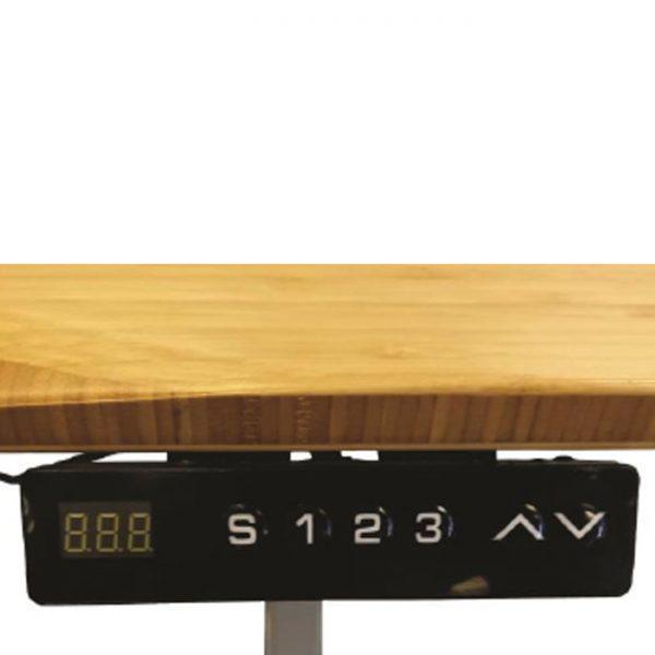 Jarvis 1220mm Height Adjustable Electric Standing Desk (Frame & Top) - Beige