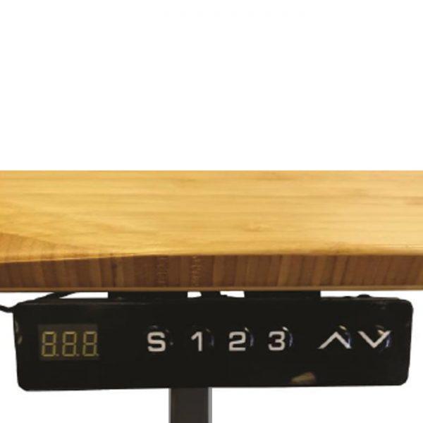 Jarvis 1520mm Height Adjustable Electric Standing Desk (Frame & Top) - Black