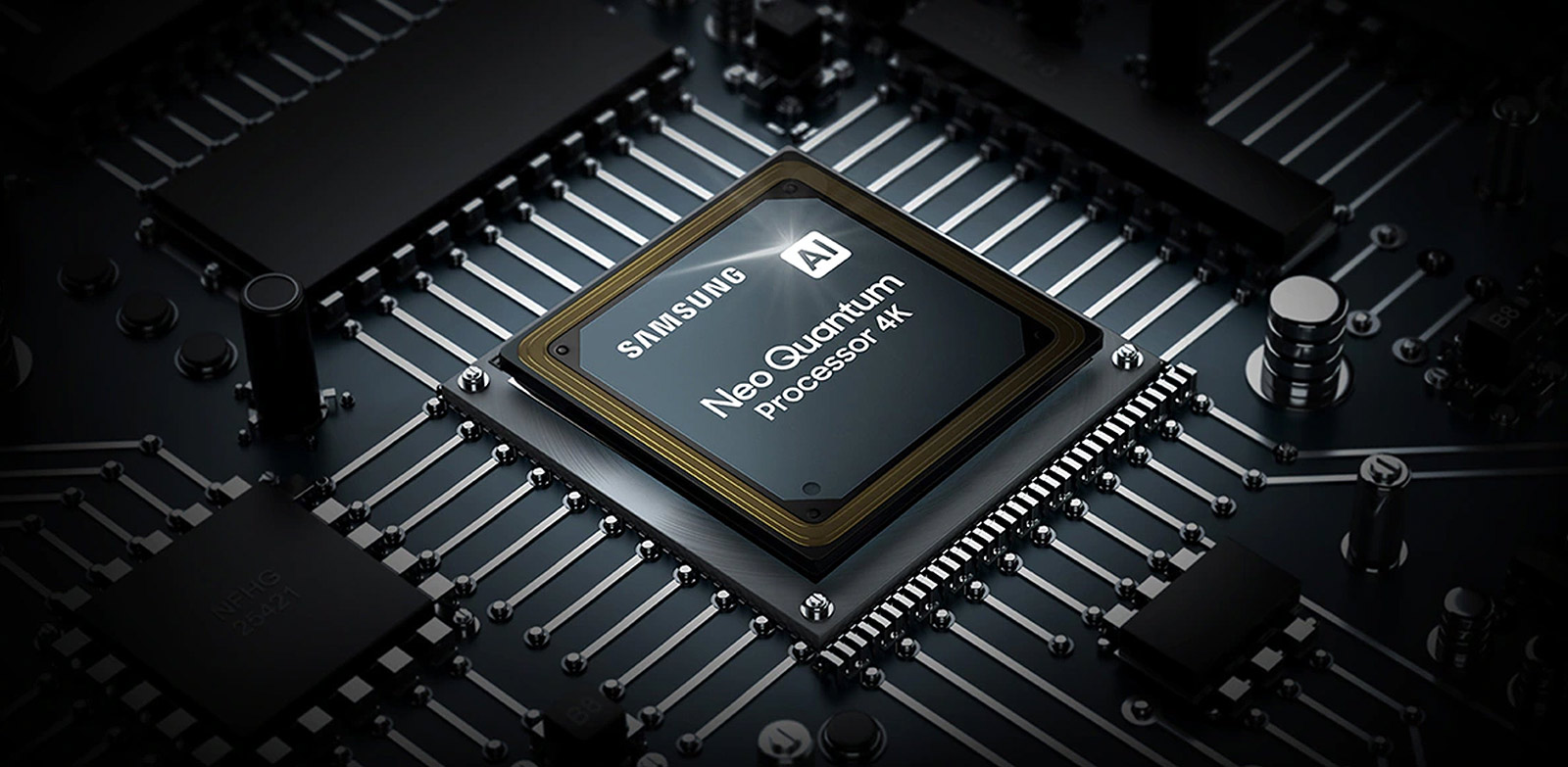 Intelligent processor perfected by deep-learning Neo Quantum Processor 4K