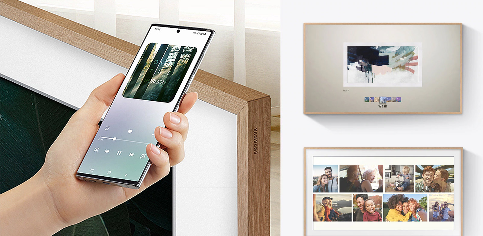 Connect your phone to the big screen with just a tapQA65LS03AAKXXA-Extension-Images_appliance_Modular